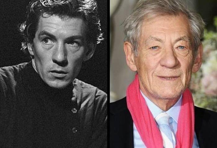 Знаменитые актеры в молодости и сейчас (10 фото)