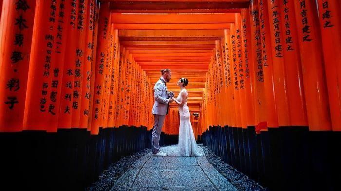Каково это: пожениться 100 раз в 30 странах мира (8 фото)