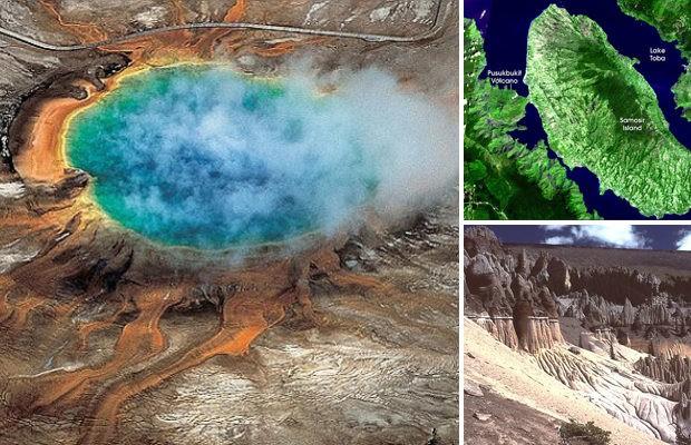 NASA назвало супервулканы реальной угрозой человечеству (15 фото)