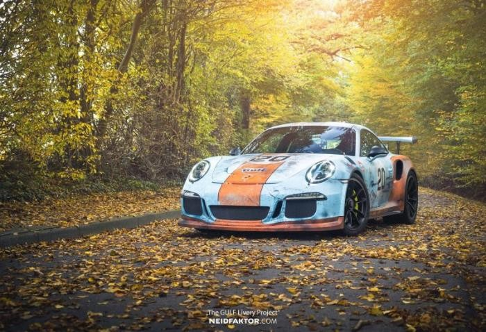 Немцы состарили новый Porsche 991 GT3 RS (15 фото)