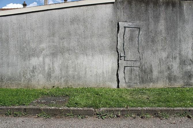 Поэтичный стрит-арт испанского художника Pejac (18 фото)