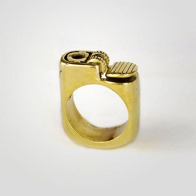 Крутые дизайнерские кольца (27 фото)