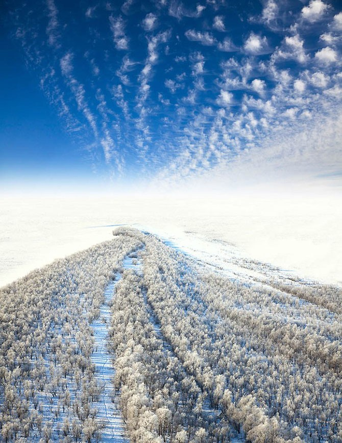 55 аэрофотографий о том, что наша планета самая красивая (55 фото)