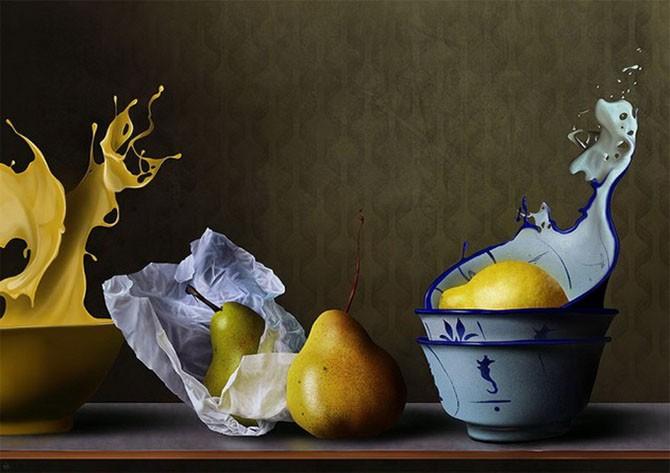 Картины на iPad от испанского художника (17 фото)