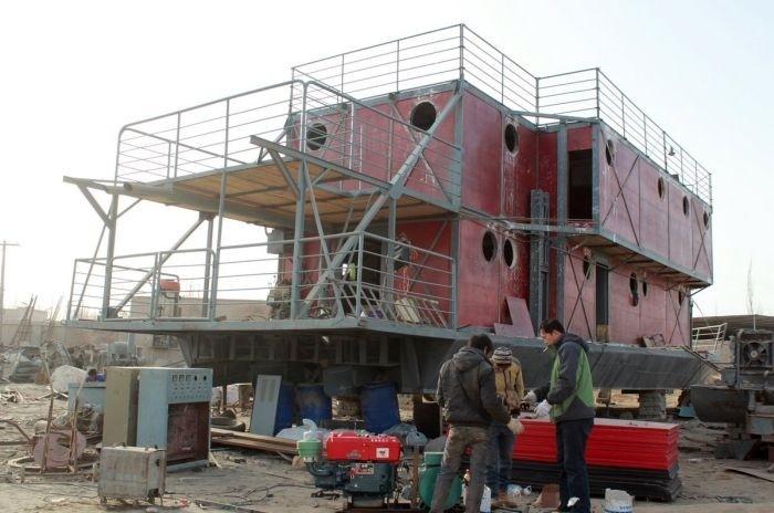 Китайский ковчег спасет от конца света (11 фото)