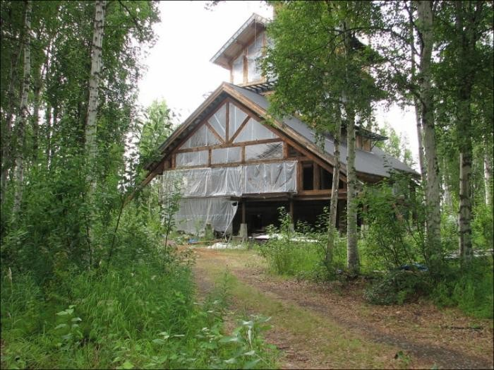 Домик на Аляске (8 фото)