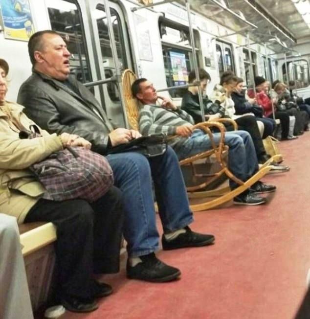 Люди, для которых комфорт - превыше всего (28 фото)