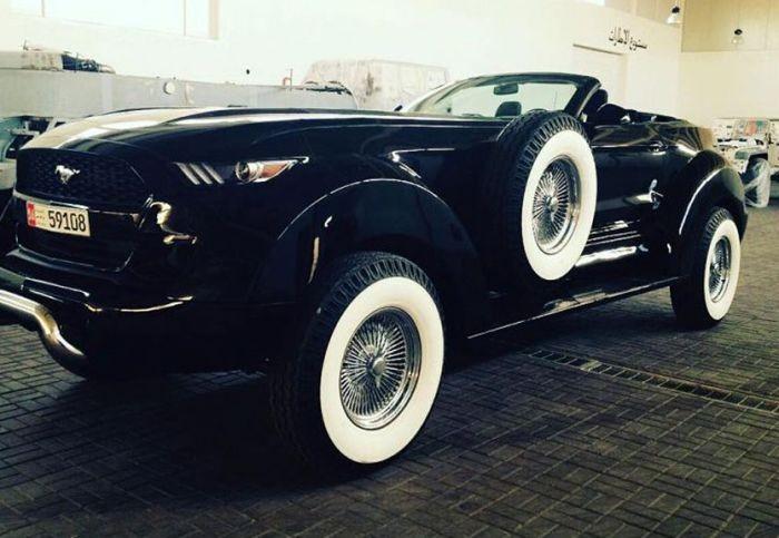 Уникальные автомобили из коллекции шейха (13 фото)