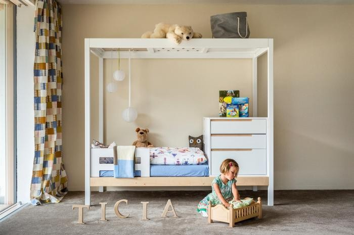 Кровать, растущая с ребёнком (10 фото)