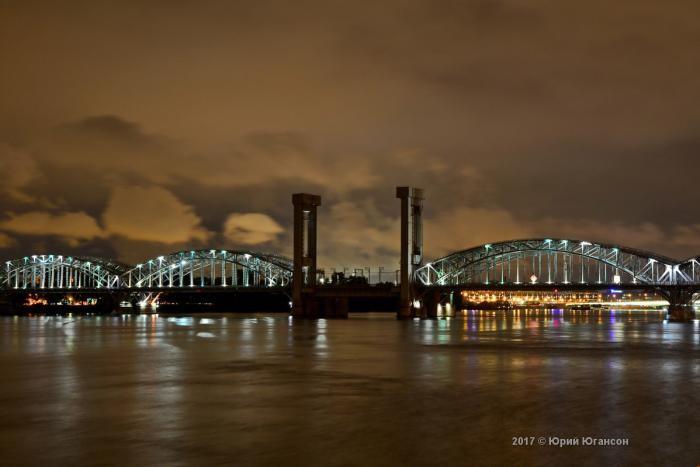 Волшебная красота мостов Петербурга (12 фото)