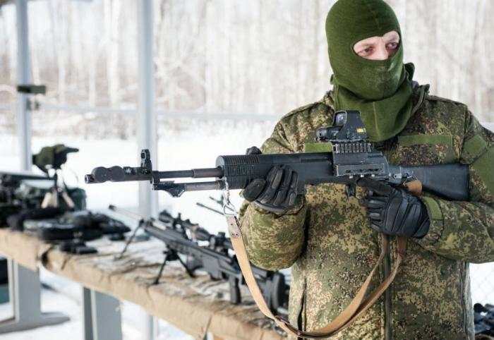 Неизвестные автоматы Российской армии (5 фото)