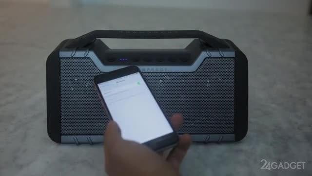 Бронированная Bluetooth-колонка для экстремалов (13 фото + видео)