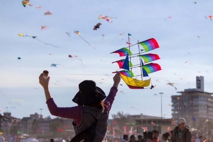 Фестиваль ветров на Бонди Бич (14 фото)