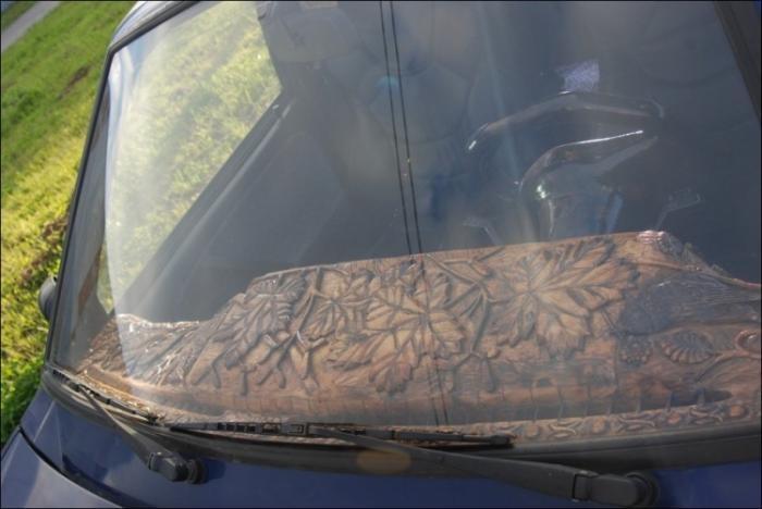 Древесный тюнинг ведра с гайками (9 фото)