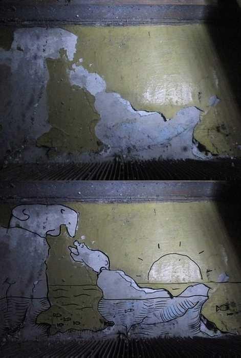 Подмосковный стрит-арт (10 фото)