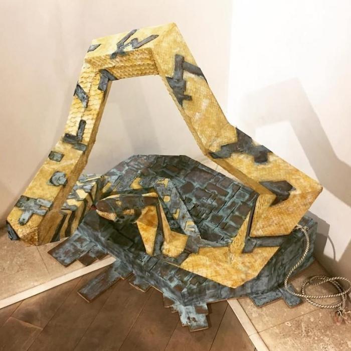 Итальянский художник Альберто Микелон - самый упоротый таксидермист (12 фото)
