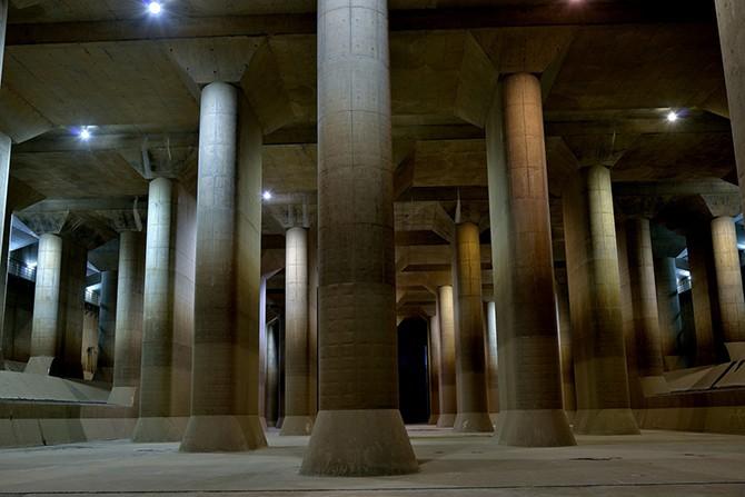 Огромное подземелье под Токио (12 фото)