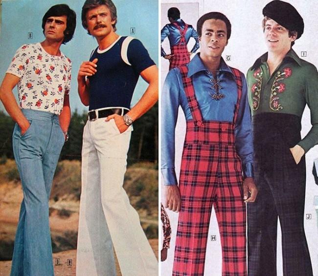 Мужская мода 70-х, которую невозможно забыть (16 фото)