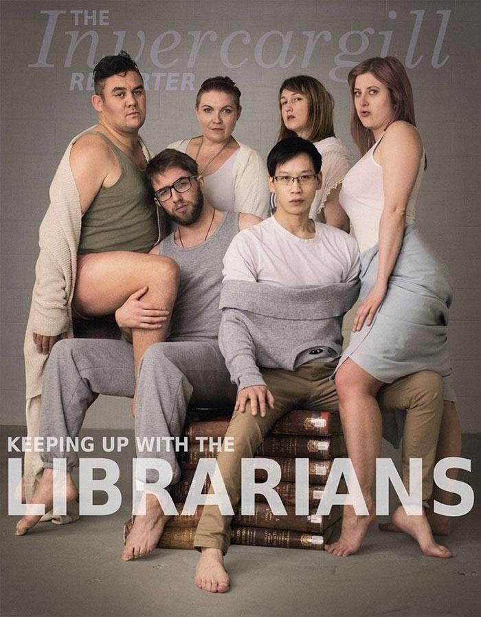 Библиотекари воссоздали фото семейства Кардашьян, и у них получилось даже лучше (4 фото)