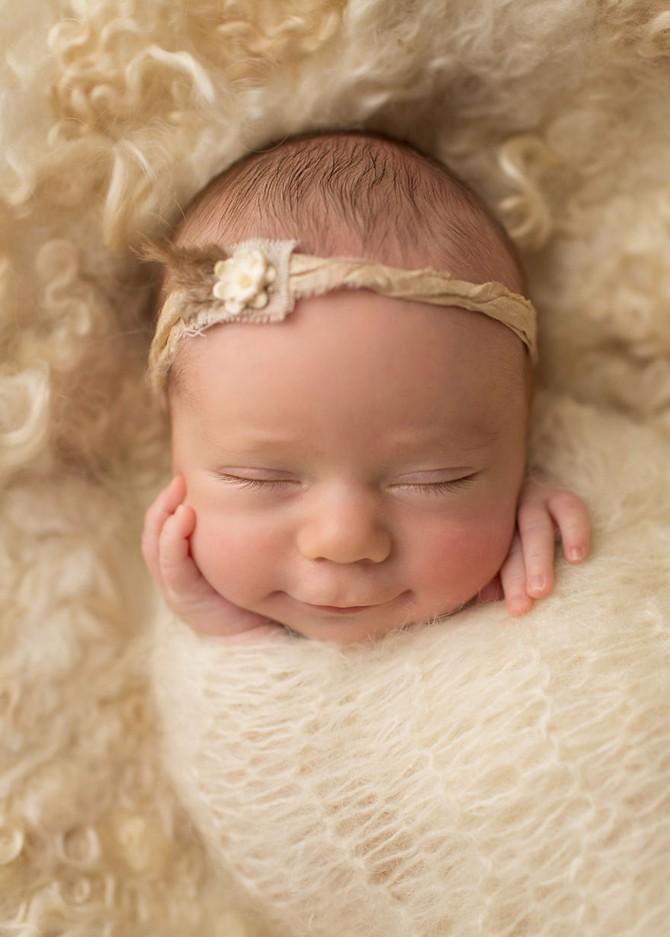 Бесценные улыбки малышей на прекрасных фото Сэнди Форд (18 фото)