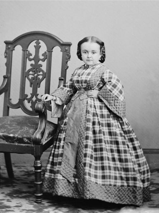 Роскошная свадьба лилипутов в годы гражданской войны в США (10 фото)