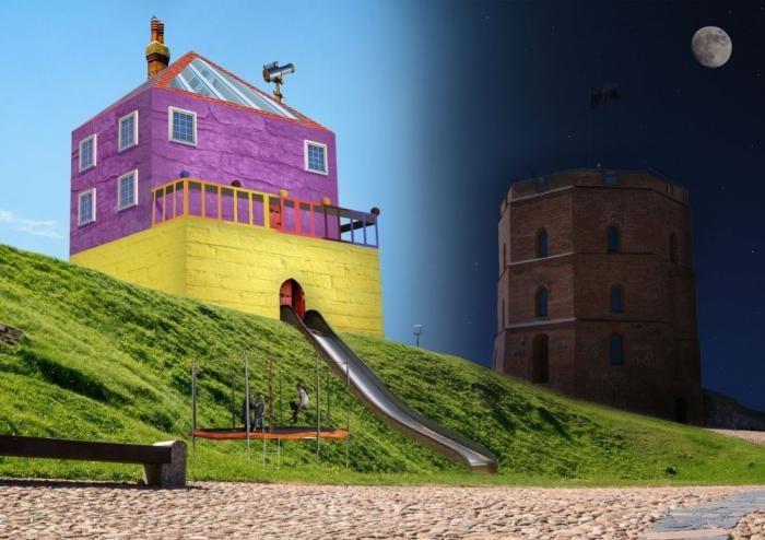 Если бы дома строили дети (13 фото)