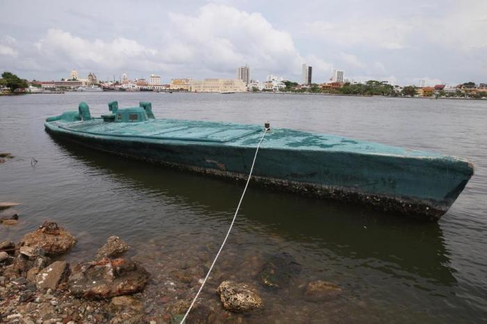 Подводные лодки наркокартелей (7 фото)