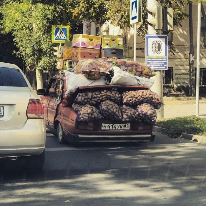 Загробная жизнь отечественных легковушек (7 фото)