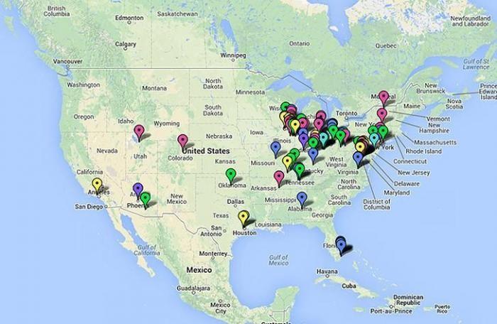 Путешествие по заброшенным мегамоллам США (63 фото)