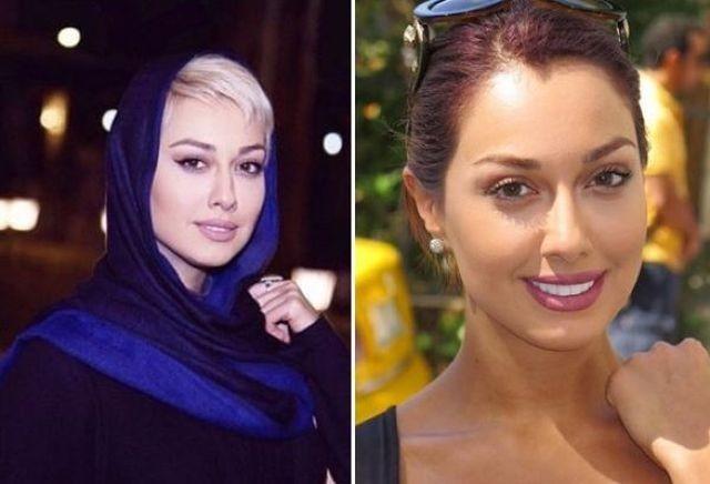 Фото актрисы Садаф Тагериан возмутили иранское общество (7 фото)