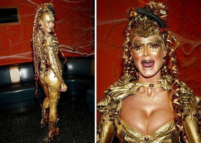 Модель Хайди Клум поделилась идеями костюмов на Хэллоуин (13 фото)
