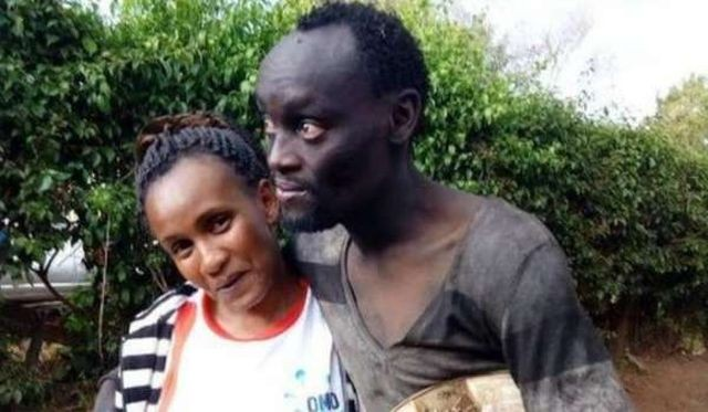 Жительница Кении помогла другу детства, ставшему наркоманом (4 фото)