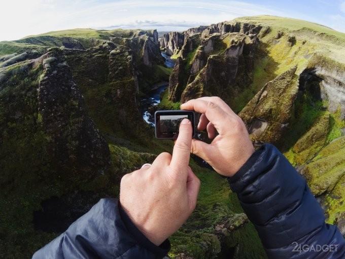 Новинки GoPro: камера для 360-градусной съёмки Fusion и Hero6 Black (9 фото + видео)