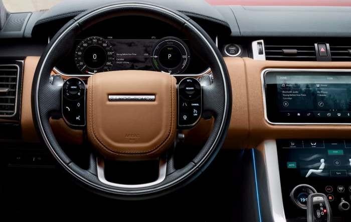 Land Rover выпустил самый экономичный гибрид (6 фото)