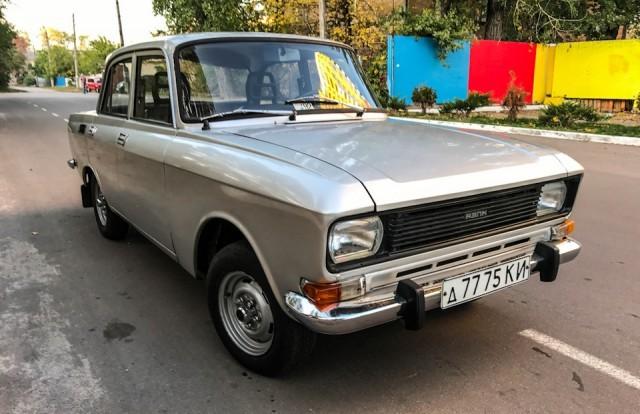«Москвич-2140» в заводском цвете металлик (20 фото)