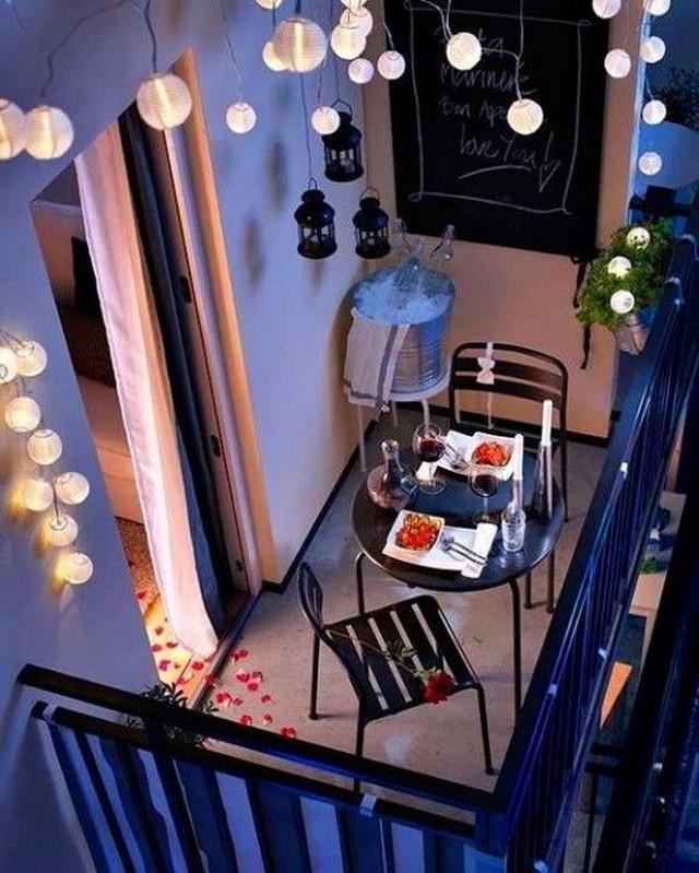 Самые красивые маленькие балконы (16 фото)
