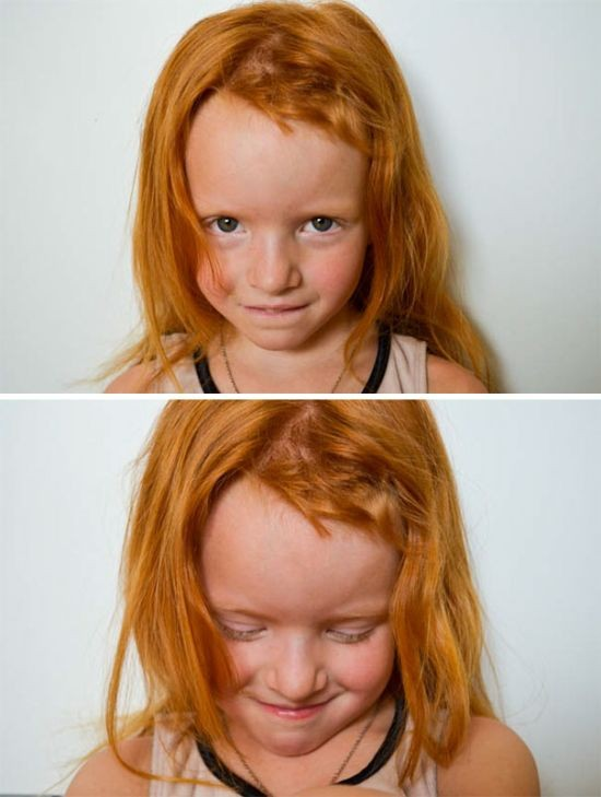 Детишки решили подстричься (23 фото)
