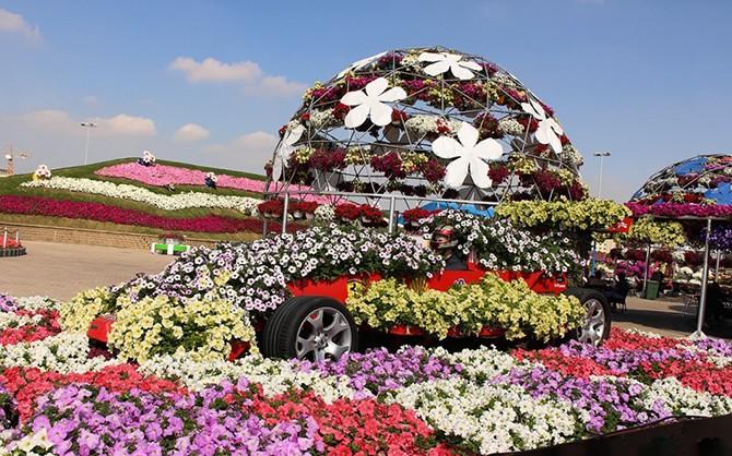 Уникальный сад в Дубае удивит даже самых придирчивых (20 фото)