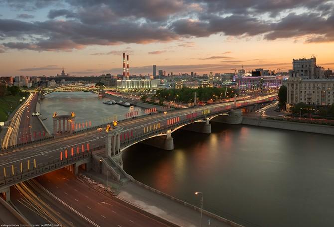 Москва c крыш (11 фото)