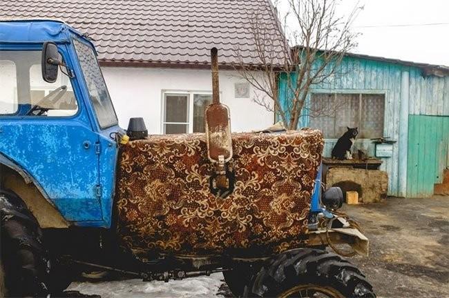 Невероятные приключения ковров в России (30 фото)
