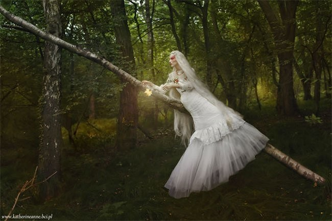 Славянская сказка, воплощенная фотографом в реальность (23 фото)