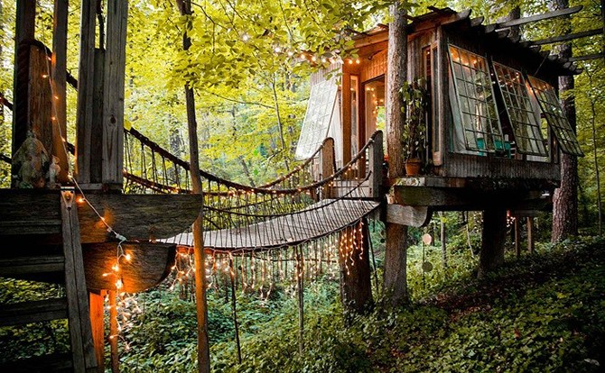 Самые романтичные домики на дереве (9 фото)
