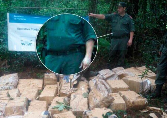 Незадачливый полицейский жестко спалился (2 фото)