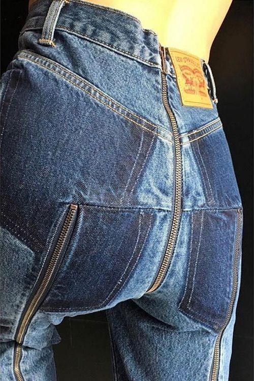 """Слишком """"модные"""" джинсы, чтобы носить их в России (6 фото)"""
