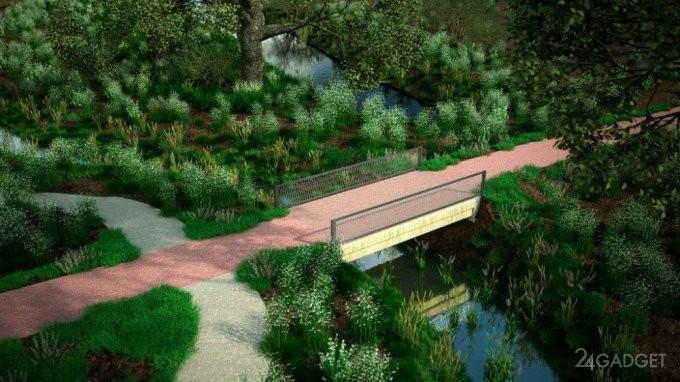 В Голландии установили первый 3D-печатный мост (7 фото)