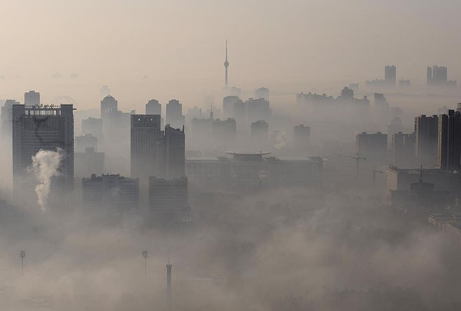 Города в облаках (13 фото)