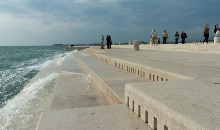 Орган в Хорватии воспроизводит звуки Адриатического моря (7 фото)
