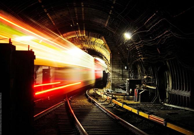 Магия подземного мира метрополитена (20 фото)