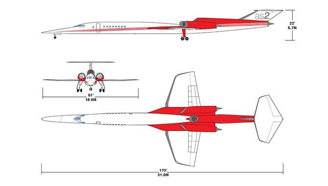 Сверхзвуковой частный самолет за $120 миллионов (6 фото)
