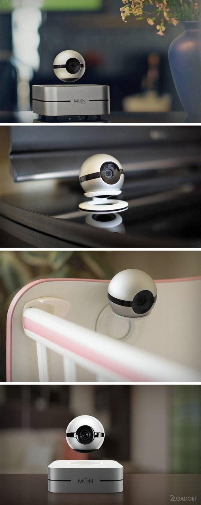 Многоцелевая левитирующая камера безопасности (9 фото + видео)